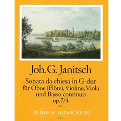 Janitsch Sonata da chiesa in G major op. 7/4