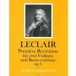 LeClaire, JM Premiere Recreation, op. 6