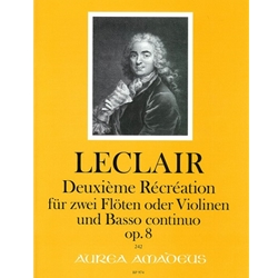 LeClaire, JM Deuxieme Recreation, op. 8