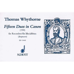 Whythorne, Thomas: 15 Duos in Canon (1590)