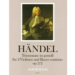 Handel, GF Trio sonata in g minor op. 2/2