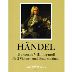 Handel, GF Sonata VIII in g minor