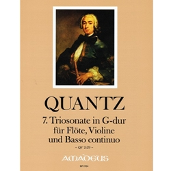 Quantz Trio sonata in G Major (QV 2:29)