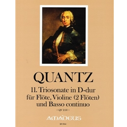 Quantz Trio sonata in D Major (QV 2:10)