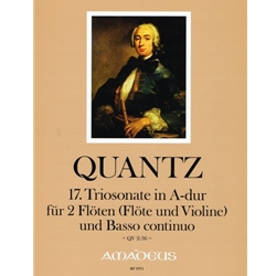 Quantz Trio sonata in A Major (QV 2:19)