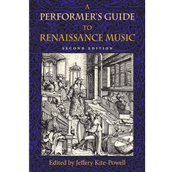 Performer's Guide to Renaissance Music