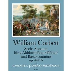 Corbett, William: 6 Sonatas, op. 4/4-6