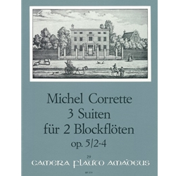 Corrette, Michel: 3 Easy Suites, op. 5/2-4