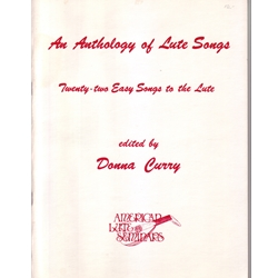 Curry, Donna: Anthology of Lute Songs