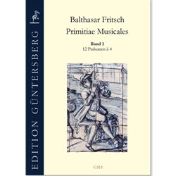 Fritsch, Balthasar: Primitiae Musicae vol. 2 - 20 Galliarden