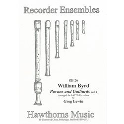 Byrd, William: Pavans and Galliards vol. 1