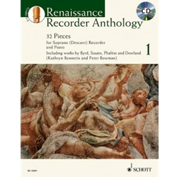 Bowman & Bennett, ed.: Renaissance Recorder Anthology, vol. 1