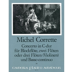 Corrette, Michel Concerto comique in C Major, op. 4/3