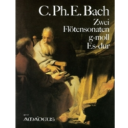 Bach, CPE 2 Sonatas (BWV1031 in E-flat Major & BWV102 in g minor) for flute and obbligato keyboard