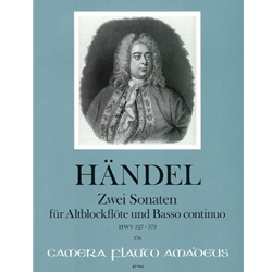 Handel, GF 2 Sonatas (C Major, after HWV327 & F Major, after HWV373)
