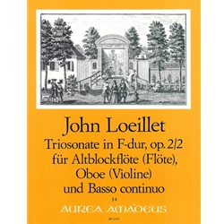 Loeillet, John Trio Sonata in F Major, op. 2/2