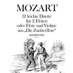 "Mozart, WA: 12 Duos from ""The Magic Flute"""