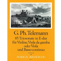 Telemann, GP Trio Sonata 85 in E Major (TWV42:E7)