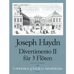 Haydn Divertimento II in G Major
