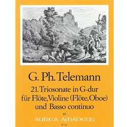 Telemann, GP Trio Sonata 21 in G Major (TWV42:G12)