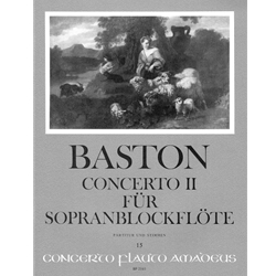 Baston Concerto II in C Major (Sc+P)