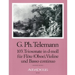 Telemann, GP Trio sonata in d minor (TWV 42:d5)