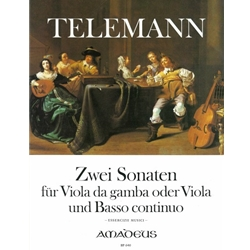 Telemann, GP 2 Sonatas (Essercizii musici - e minor, a minor, TWV 41:e5 and 41:a6)