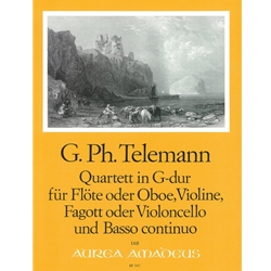 Telemann, GP: Quartet in G Major (TWV 43:G11)
