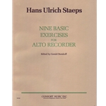 Staeps 9 Basic Exercises for Alto Recorder