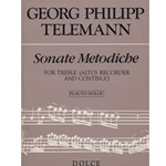 Telemann, GP Sonate Methodiche (1728/32) (Sc+P)