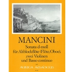 Mancini, F Sonata VI in d minor (Sc+P)