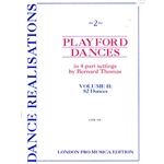 Thomas, arr: 82 Playford Dances in 4 part settings (score)