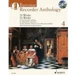 Bach, Telemann, et al: Baroque Recorder Anthology Vol. 4