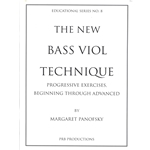 Panofsky, Margaret: Bass Viol Technique
