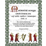 Cofrin, ed: Medieval Songs and Dances of 11th-14th c. Europe, vol. 2
