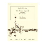Mercy, Louis: Six Solos, op. 1/4-6