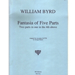 Byrd, William: Fantasia a5 'Two parts in one in the 4th above'