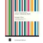 Bach, JS: Sonata in F Major, BWV 1035 (score & parts)