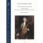 Abel, CF: Ten Sonatas for Viola da Gamba from the Second Pembroke Collection. vol. 1