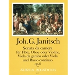 Janitsch, JG: Sonata da Camera op. 8 for Flute, viola da gamba and Continuo