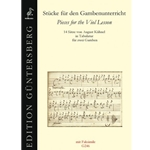 Stücke für den Gambenunterricht - Pieces for the Viol Lesson