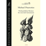 Praetorius, Michael: Christmas Bicinia for two bass instruments