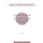 Le Jeune, Claude: Susanne un Jour - for 7 voices or instruments