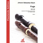 Bach, JS: Arranged by Ferdinand Gesell Fuge BWV 869 for recorders