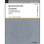 Boismortier: 6 Concerti op 38 for Two Alto Recorders