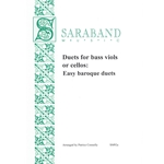 Duets for bass viols or cellos: Easy baroque duets