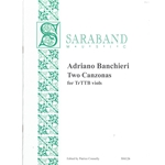 Banchieri, Adriano: Two Canzonas