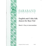 English and Celtic folk dances for Bass viol Book 1