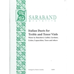 Italian duets for Treble and Tenor Viols