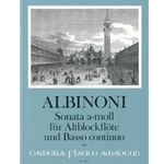 Albinoni, Tomaso: Sonata in a minor